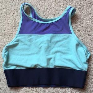 Aerie high neck sports bra